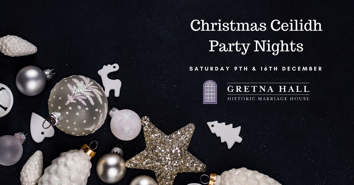 Gretna Hall Christmas Ceilidh Party Night December 2017