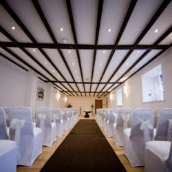 The Courtyard Ceremony Room at Gretna Hall
