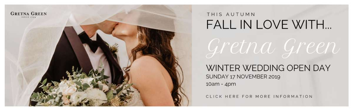 Gretna Green Winter Wedding Open Day 2019