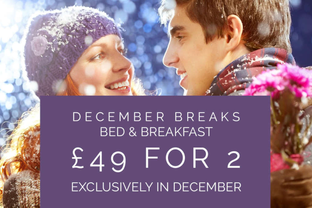 December Breaks £49 B&B for 2 at Gretna Hall